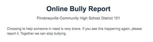 Anonymous Bully Reporting